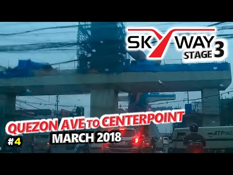METRO MANILA SKYWAY STAGE 3 Update 4 🚗 Quezon Ave, Quezon City to Sta Mesa, Manila 🚗 City Tour