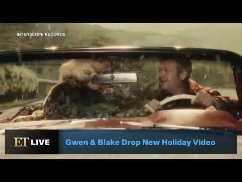 Gwen Stefani And Blake Shelton Debut Cheerful ''You Make It Feel Like Christmas'' Video