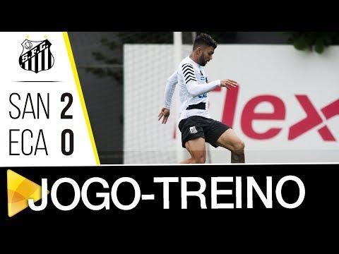 Santos 2 x 0 Água Santa | GOLS | Jogo-treino (30/01/18)