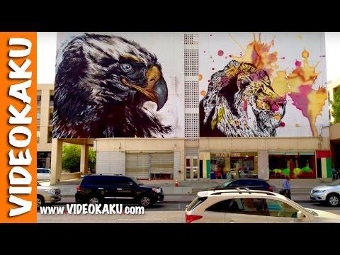Graffiti Street Art In Al Karama Market Dubai