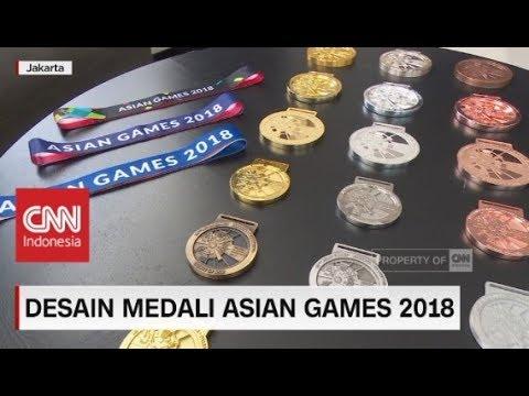 Desain Medali Asian Games 2018