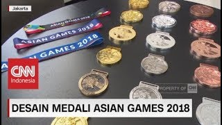 Download Video Desain Medali Asian Games 2018 MP3 3GP MP4