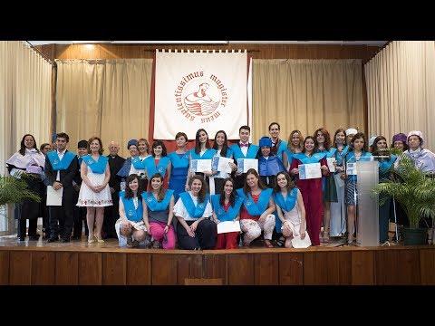 Acto de Graduación 2013-2017 EUM Fray Luis de León