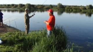 Озеро в Бурцево. Нижний Новгород