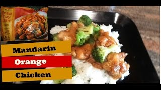 Quick Meals || Easy Mandarin Orange Chicken With Jasmine Rice