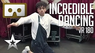 INCREDIBLE DANCE MOVES! Will Britain's Got Talent's Shameer Rayes Get The VR Golden Buzzer?! VR180