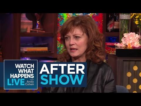 After : Susan Sarandon And Andy Cohen Smoked Weed Together  WWHL
