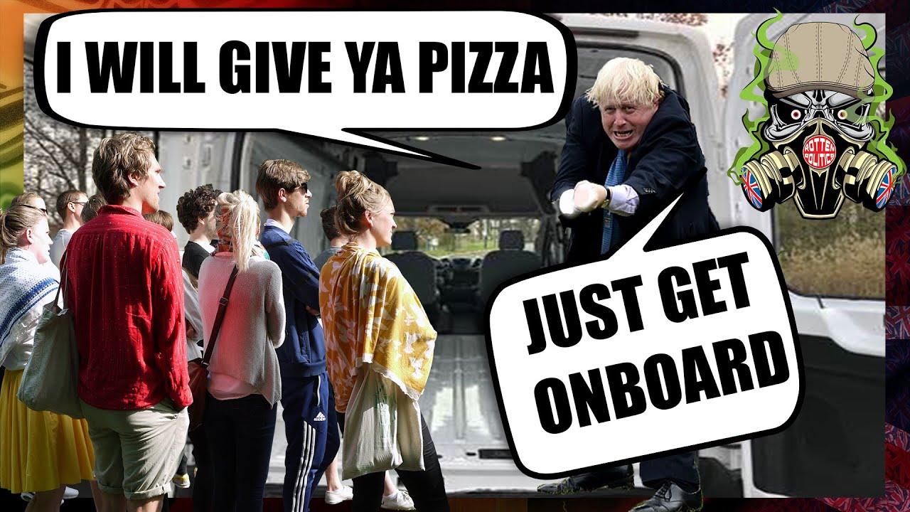 🤔Junk food for jabs, UK gov lost the plot😜