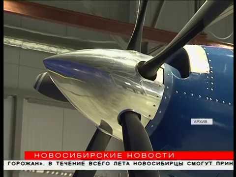 Уникальную версию Як-40 из Новосибирска представили Минпромторгу