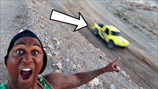 Monster Rally Truck VS Desert!!