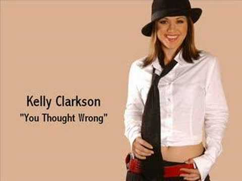 Kelly Clarkson - You Thought Wrong:歌詞+中文翻譯