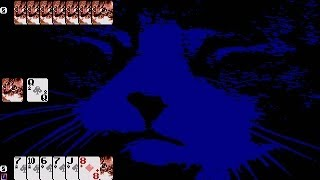 ATARI ST Red Cat Rummy 500+ STAR LAUGH 1995Yam SoftwareSW FART CAT