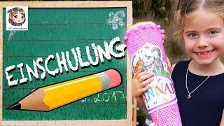HANNAHS EINSCHULUNG 😍 Der große Tag - Endlich in der Schule! Die Spielzeugtester