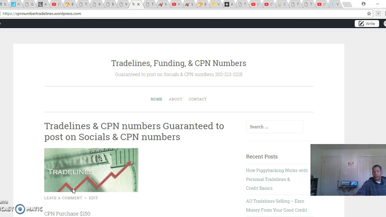 CREDIT PROFILE NUMBERS | CPN | SCN