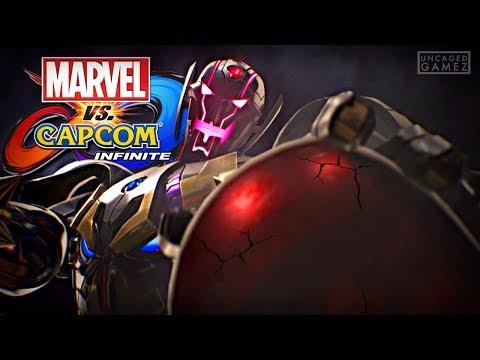 Marvel vs. Capcom Infinite: Full Story Demo Playthrough!! - 동영상