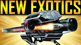 Destiny - NEW EXOTICS! RITUALS! GJALLARHORN QUEST!
