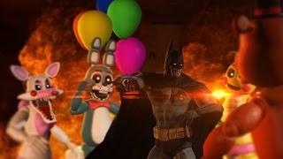 Batman Goes to Freddy's (Gmod Animation)