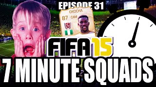 JAY JAY OKOCHA!! 7 MINUTE SQUADS #EP32 - FIFA 15 ULTIMATE TEAM