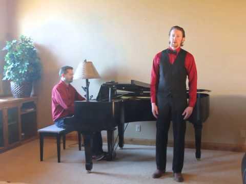 "Tenor Benjamin Meyer sings ""Frondi Tenere"" and ""Ombra Mai Fu"" by George Frederich Handel"