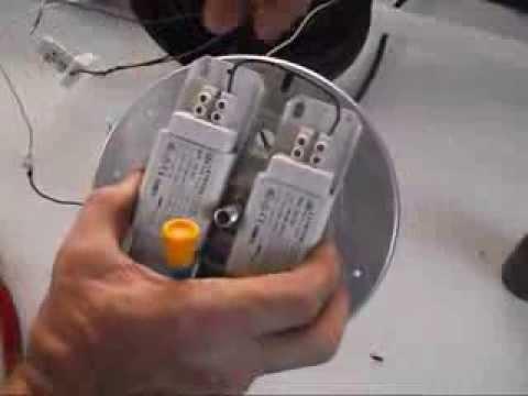 Luz de emergencia fluorescente 18 20w doovi for Porta tubos fluorescentes