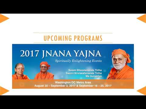 Experience the Yoga of Knowledge - Spiritual Events in Washington Metro Area  - September 2017