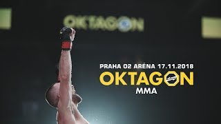 OKTAGON MMA - Praha 17.11.2018 (Highlight by Videojinak)