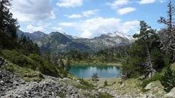 Lacs de  Bastan par le col de Portet