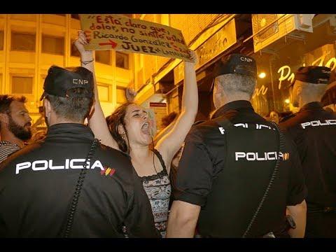 VIDEO: Protesta en Córdoba tras la sentencia de 'La Manada'