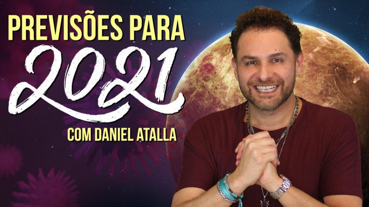 PREVISÕES 2021 E RITUAIS PARA O FINAL DE ANO COM DANIEL ATALLA