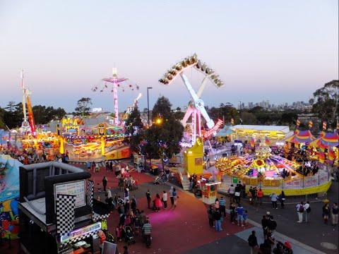 Royal Melbourne Show 2014 Rides