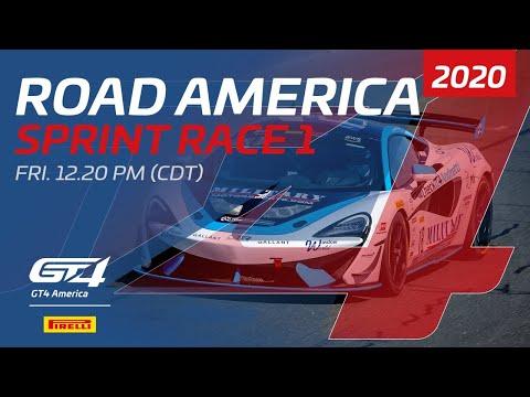 RACE 1 - GT4 SPRINT - ROAD AMERICA 2020
