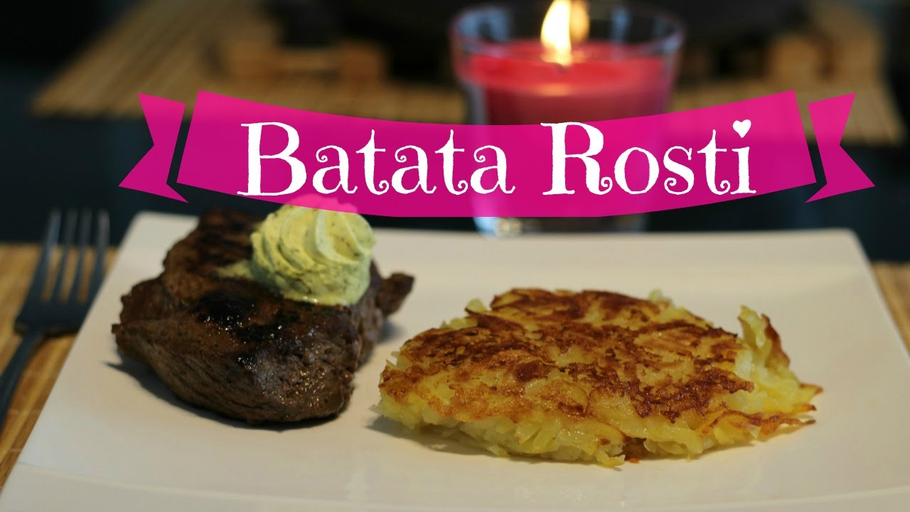 1779a1fd7fb Culinária típica da Suíça - Batata Rosti super fácil - YouTube