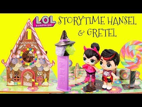 LOL Surprise Storytime Hansel & Gretel Fairytale Spice & Spice Boi