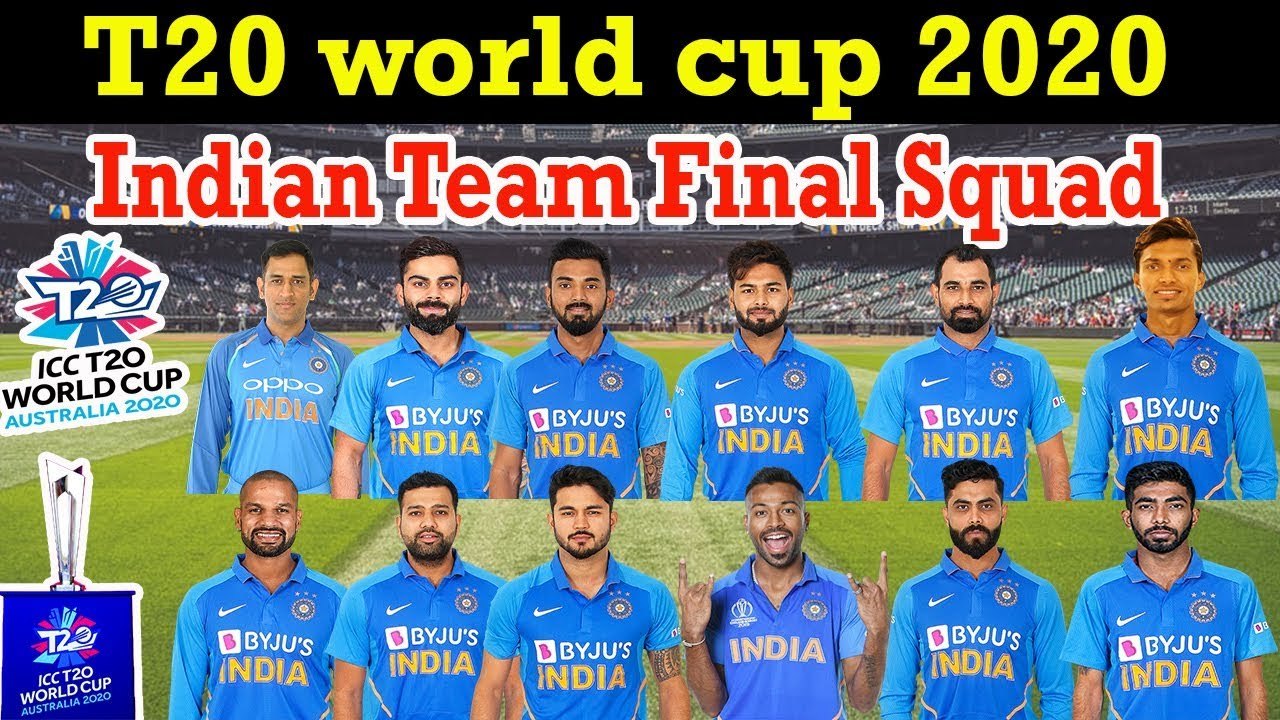 ICC T20 World Cup 2020 Team India Squad | Indian 15 Members T20 Squad | Probable Players list