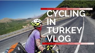 Cycling in Turkey vlog (터키 자전거 여행) -Travel vlog  (Around the world by bicycle)