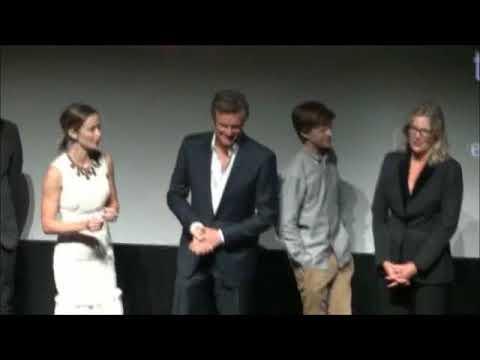 Colin Firth's Cute Shy Reaction When TIFF Public Wishes Him Happy Birthday