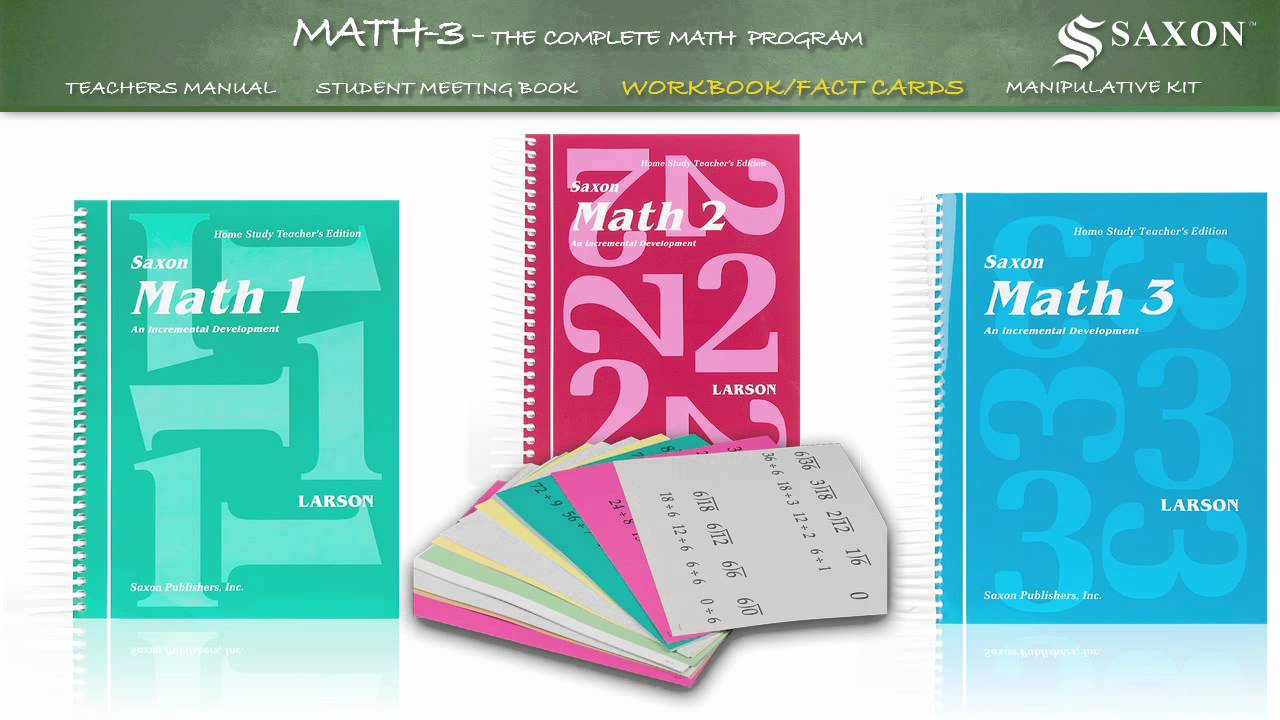 Math 3 - Saxon Math 3 Student Workbook - YouTube