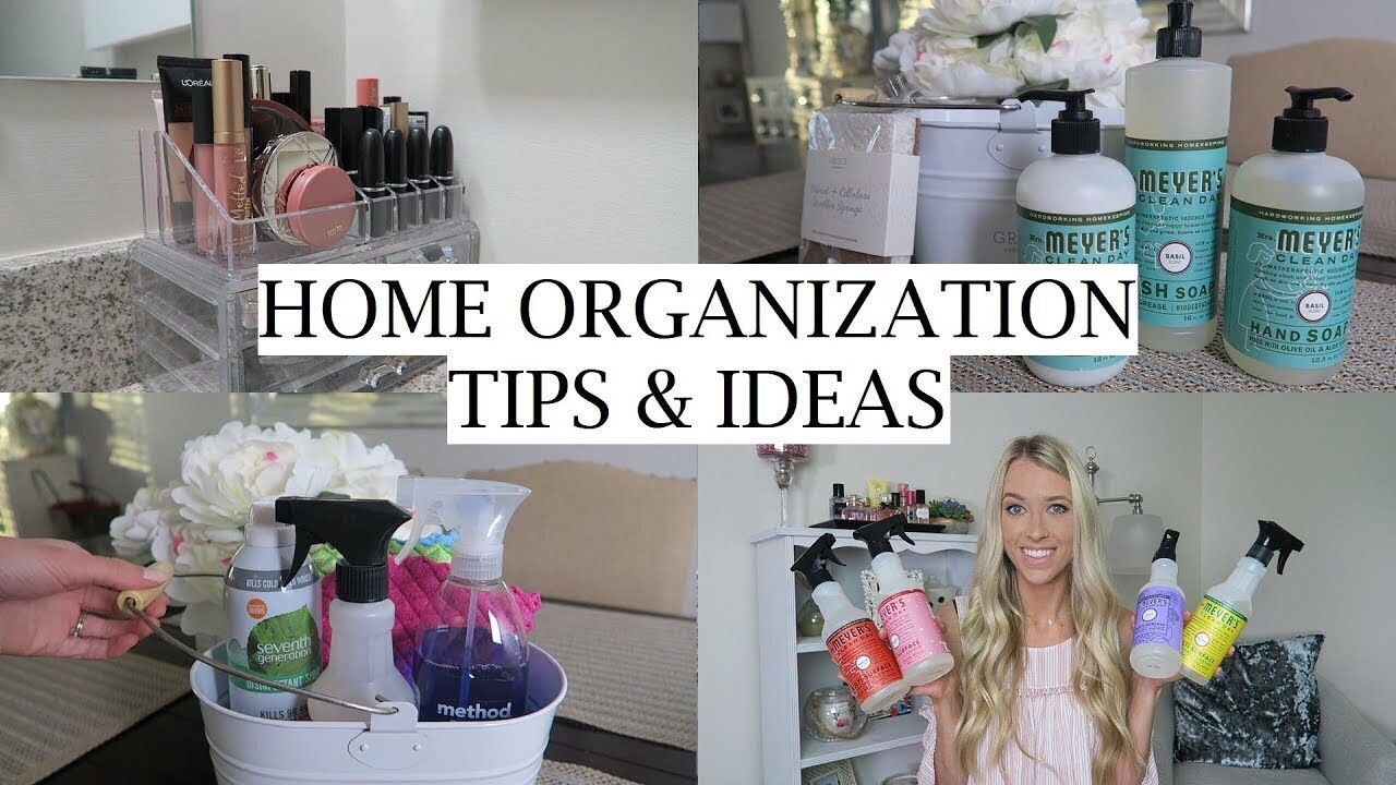 Organization & Decor Tips for the New Year!