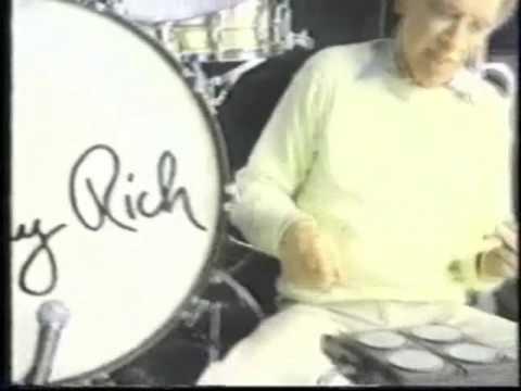 Buddy Rich on Synsonics Drums?