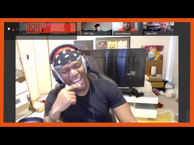 EXCLUSIVE CALL WITH KSI about RISK!!!