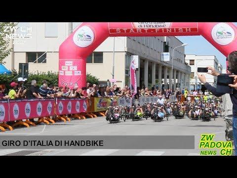 Il giro d'Italia di Handbike fa tappa alle terme