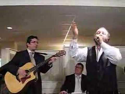 Yehuda Green at Williger Bar Mitzvah