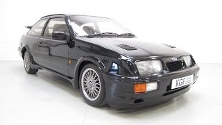 A Spectacular Ford Sierra RS Cosworth with Just 16,988!  From the fine