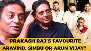 Simbu, Arvind Swami, Arun Vijay - Prakash Raj's favourite in Chekka Chivantha Vaanam! | MY 319