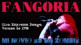 Fangoria - Mi novio es un zombi (Gira Expresso Bongo, Verano