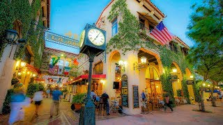 A Walk Up State Street, Santa Barbara, California