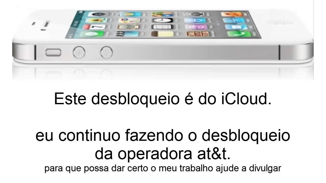 Informações Desbloqueio Icloud Iphone
