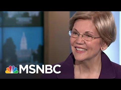 Elizabeth Warren: No Vice President Conversations With Hillary Clinton   Rachel Maddow   MSNBC
