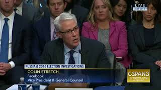 Facebook VP 'We are fighting Extremist' Congressional Hearings