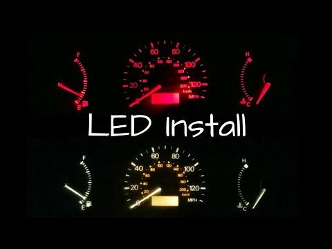 Installing LED Dash Lights